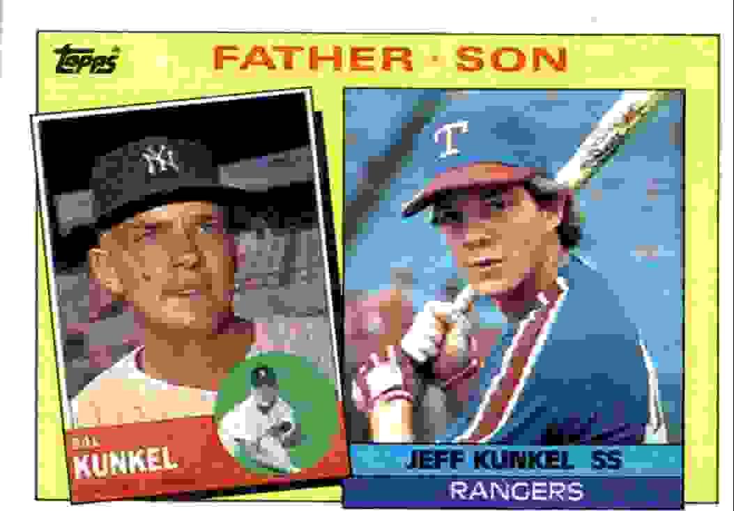 1985 Topps Bill Kunkel, Jeff Kunkel #136 card front image