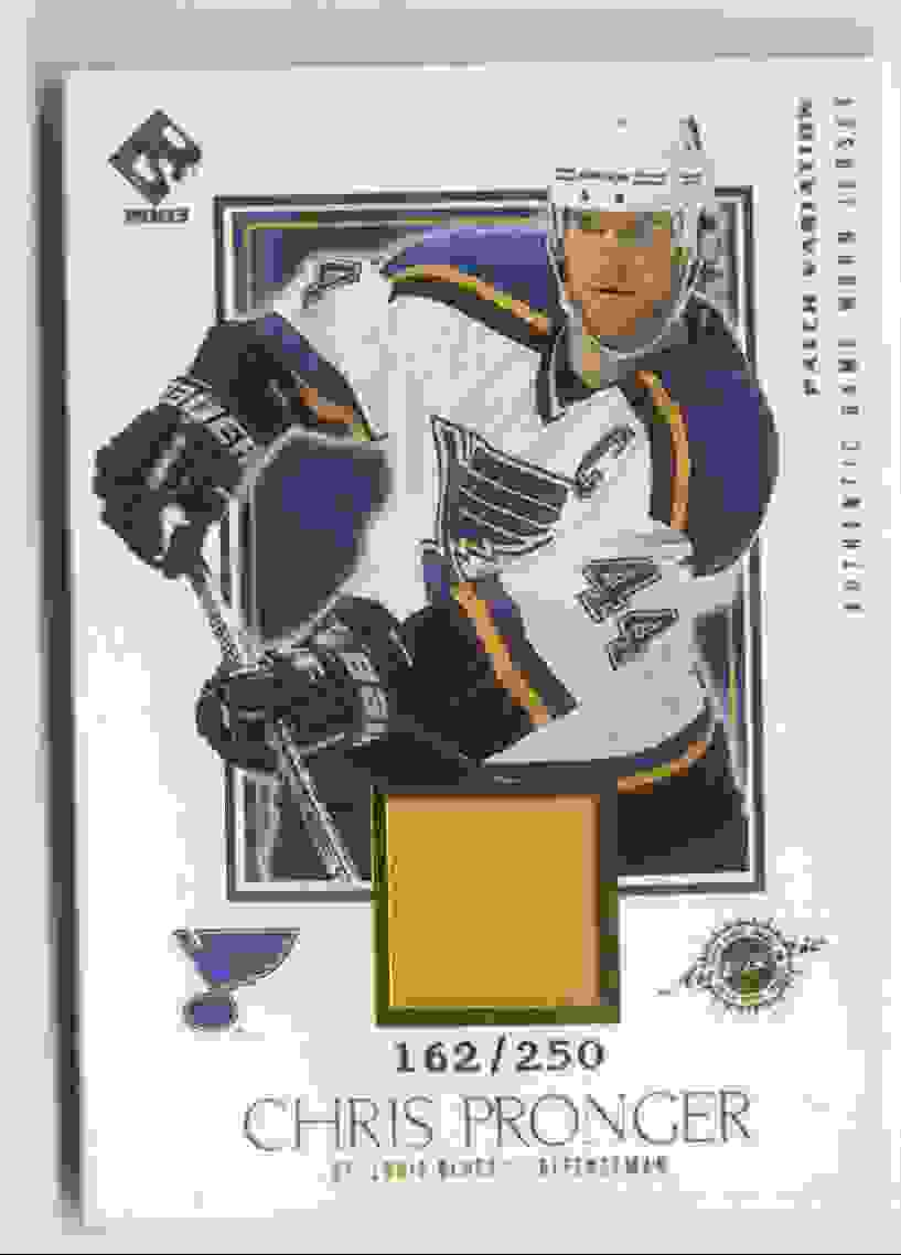 2002-03 Pacific Private Stock Reserve Patches Chris Pronger #139 card front image
