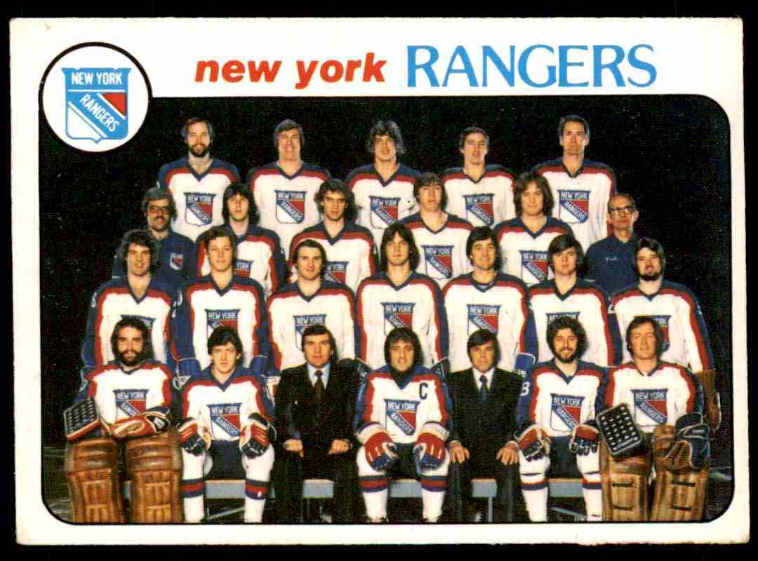 1978-79 O-Pee-Chee New York Rangers #202 card front image
