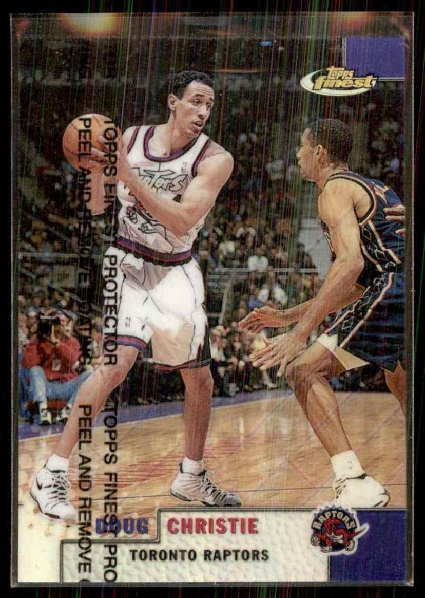 1999-00 Finest Refractors Doug Christie #83 card front image