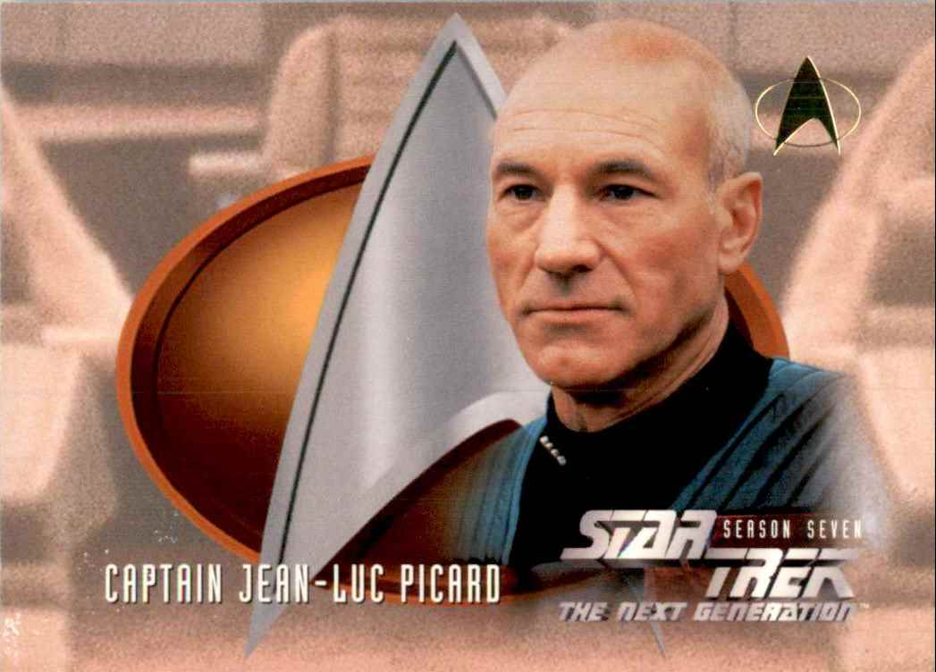 1994 Star Trek The Next Generation Episode Collection Captain Jean-Luc Picard #726 card front image