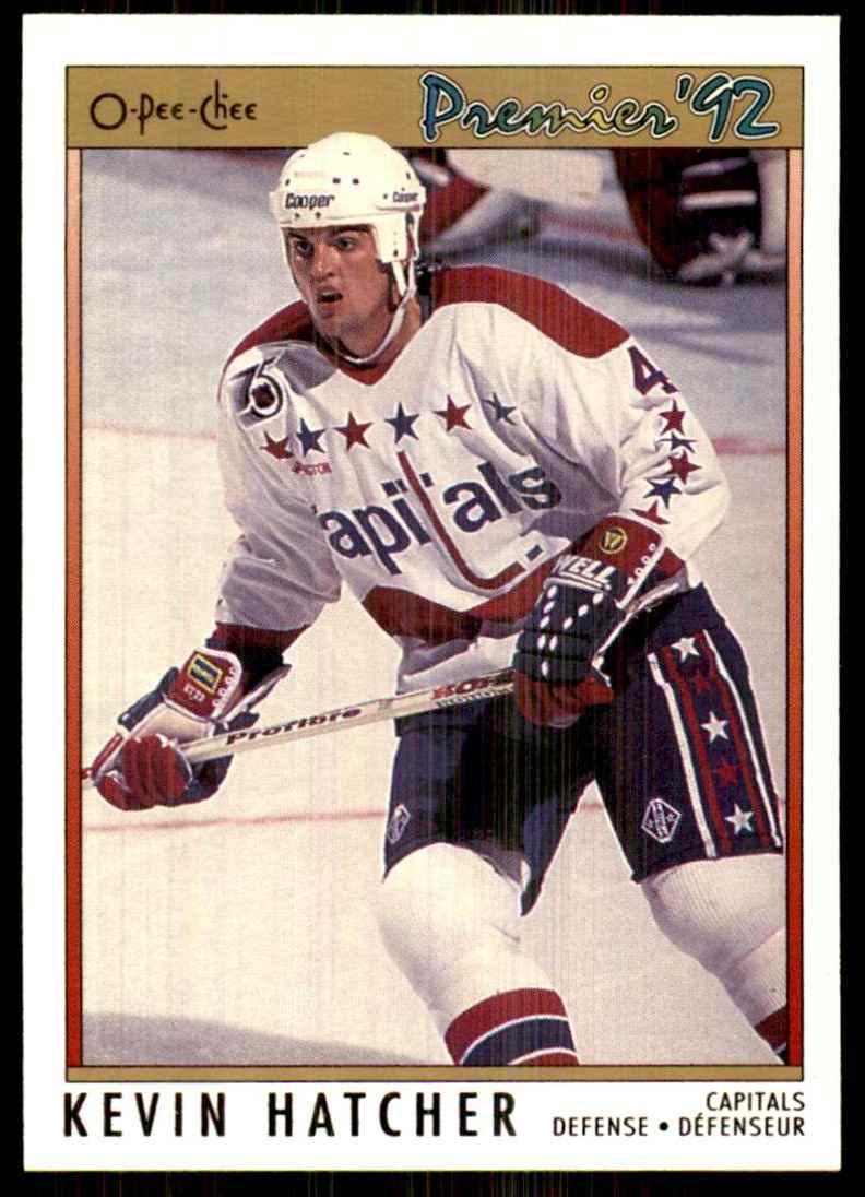 1991-92 OPC Premier Kevin Hatcher #88 card front image