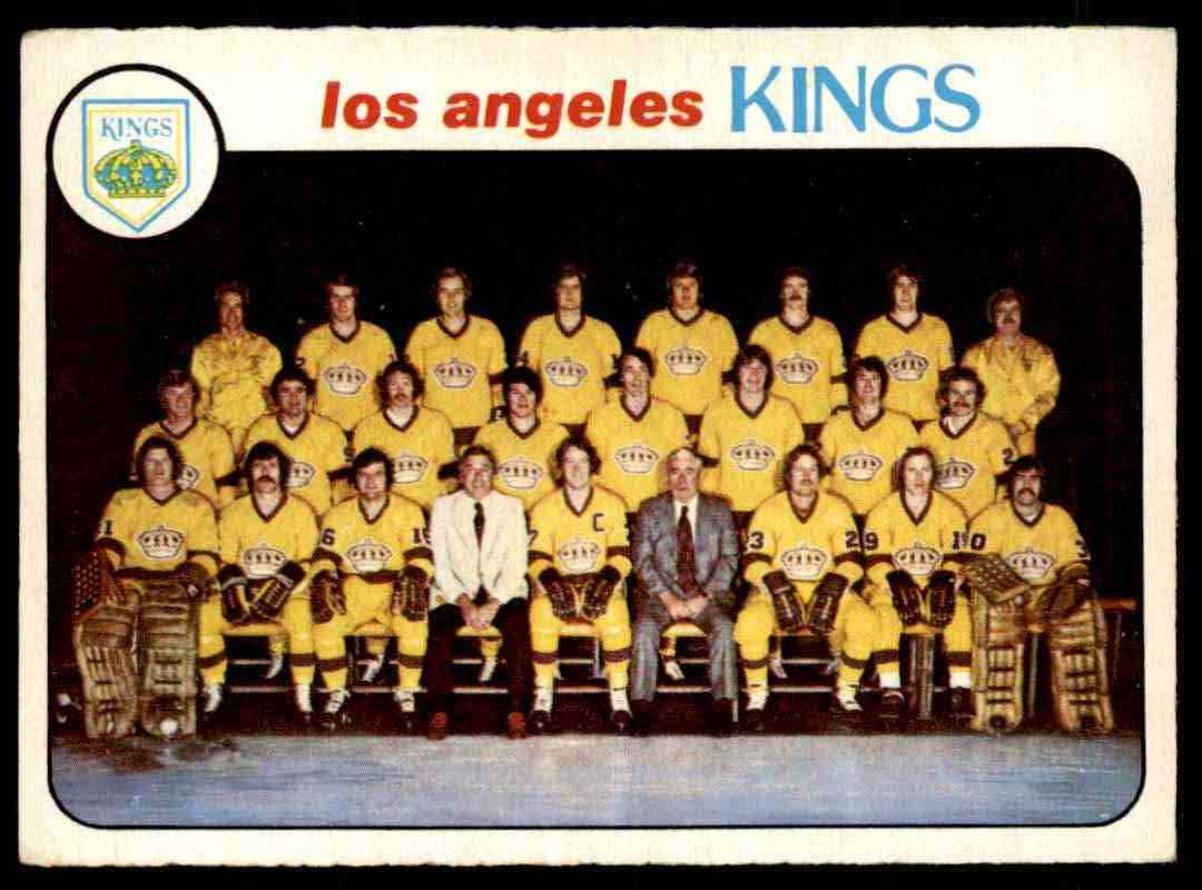 1978-79 O-Pee-Chee Los Angeles Kings #198 card front image