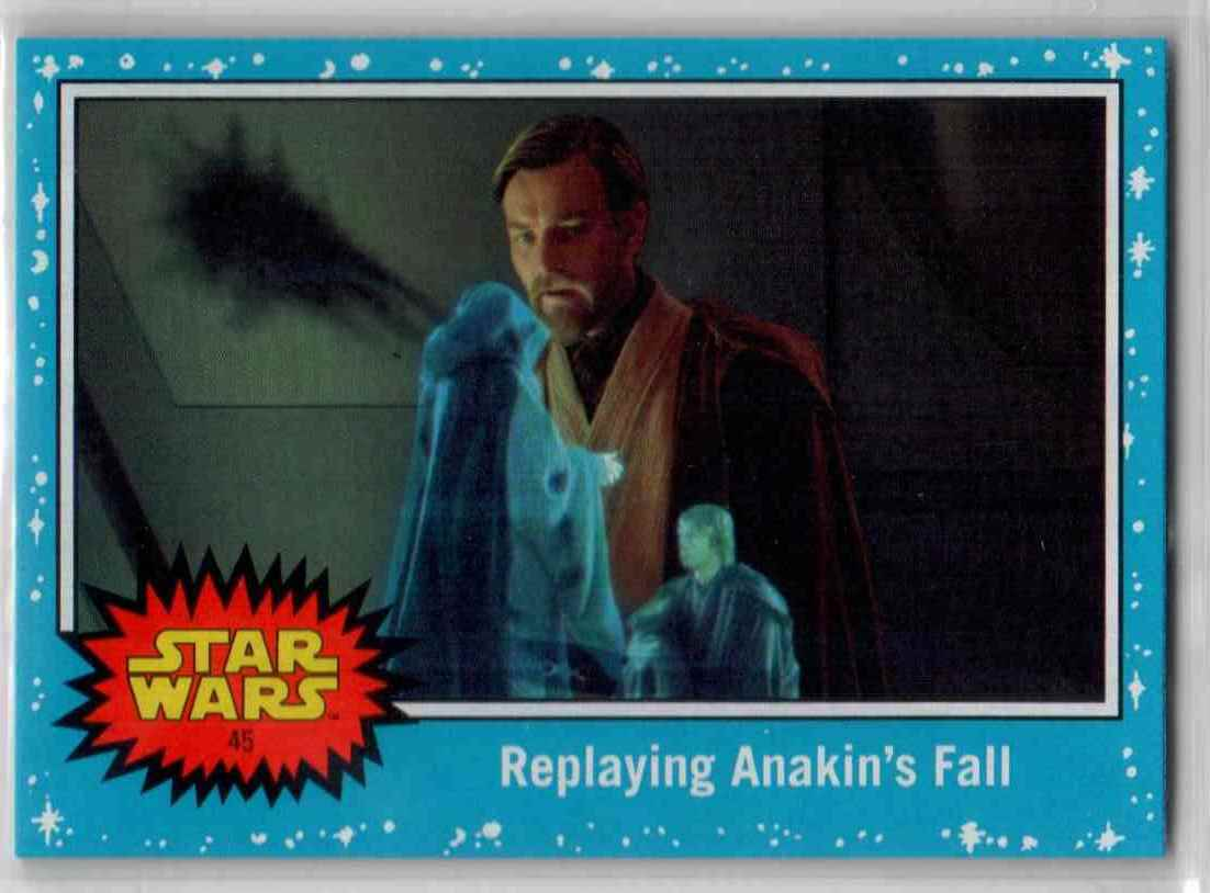 2019 Topps Star Wars Journey To Rise Of Skywalker Replaying Anakin's Fall #45 card front image