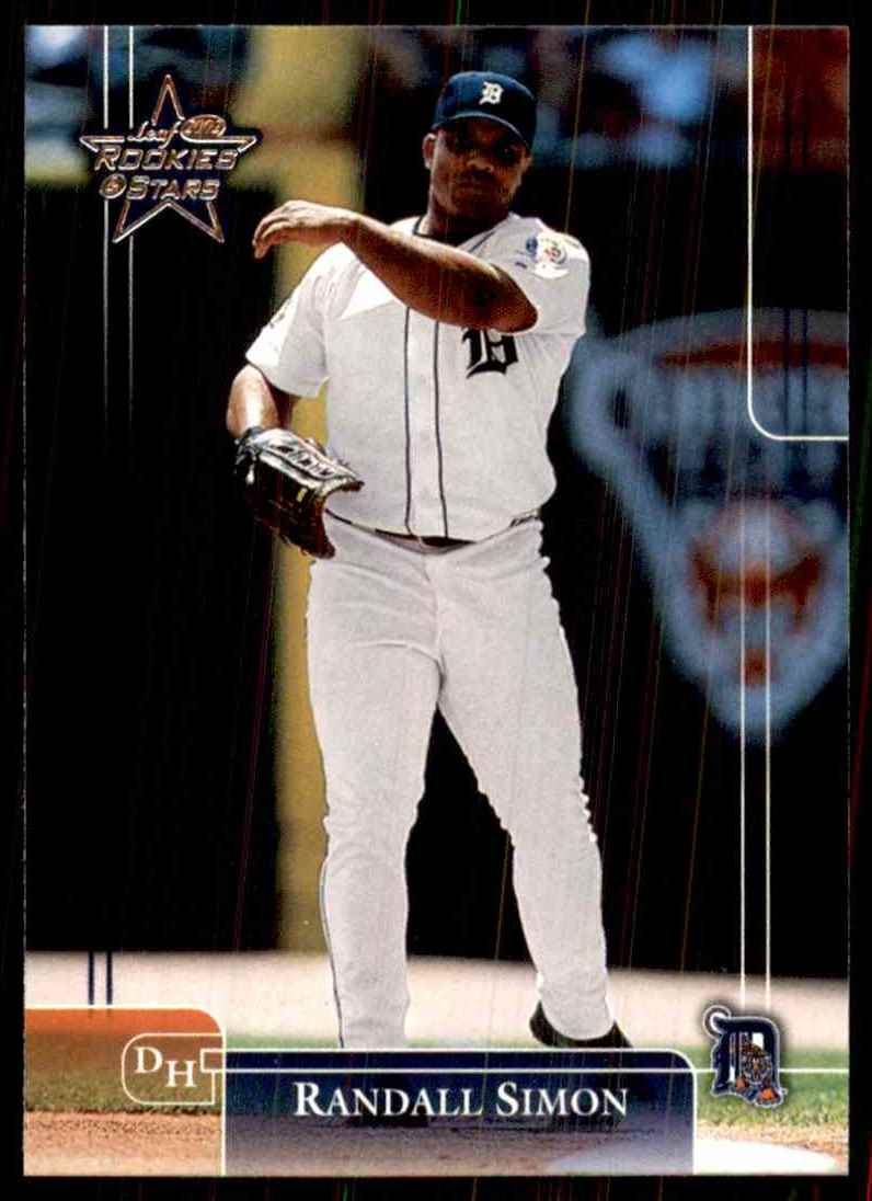 2002 Leaf Rookies & Stars Randall Simon #42 card front image