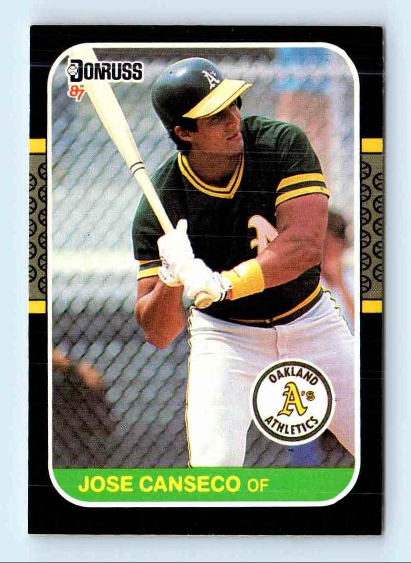 1987 Donruss Jose Canseco 97 On Kronozio