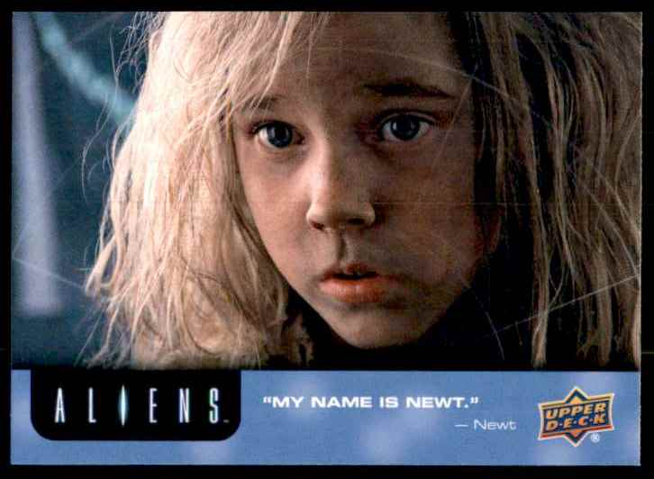 2018 Aliens My Name Is Newt #40 card front image