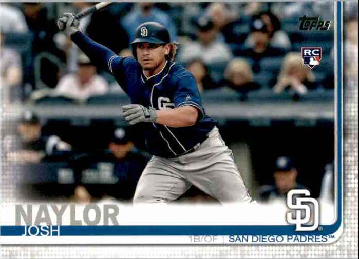 2019 Topps Update Josh Naylor RC #US43 card front image
