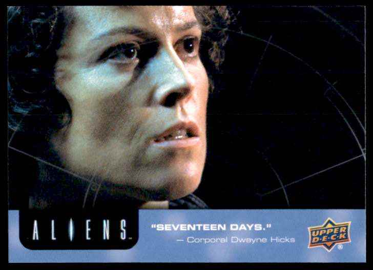 2018 Aliens 17 Days #61 card front image