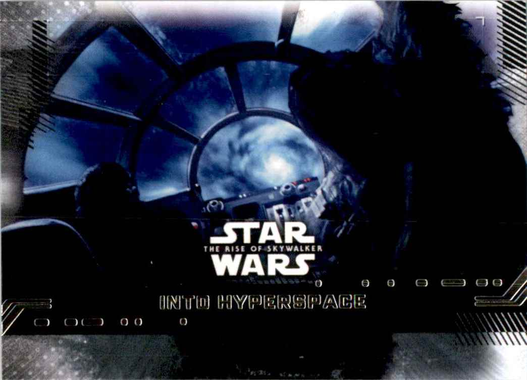 2019 Star Wars The Rise Of Skywalker Series One Into Hyperspace #63 card front image