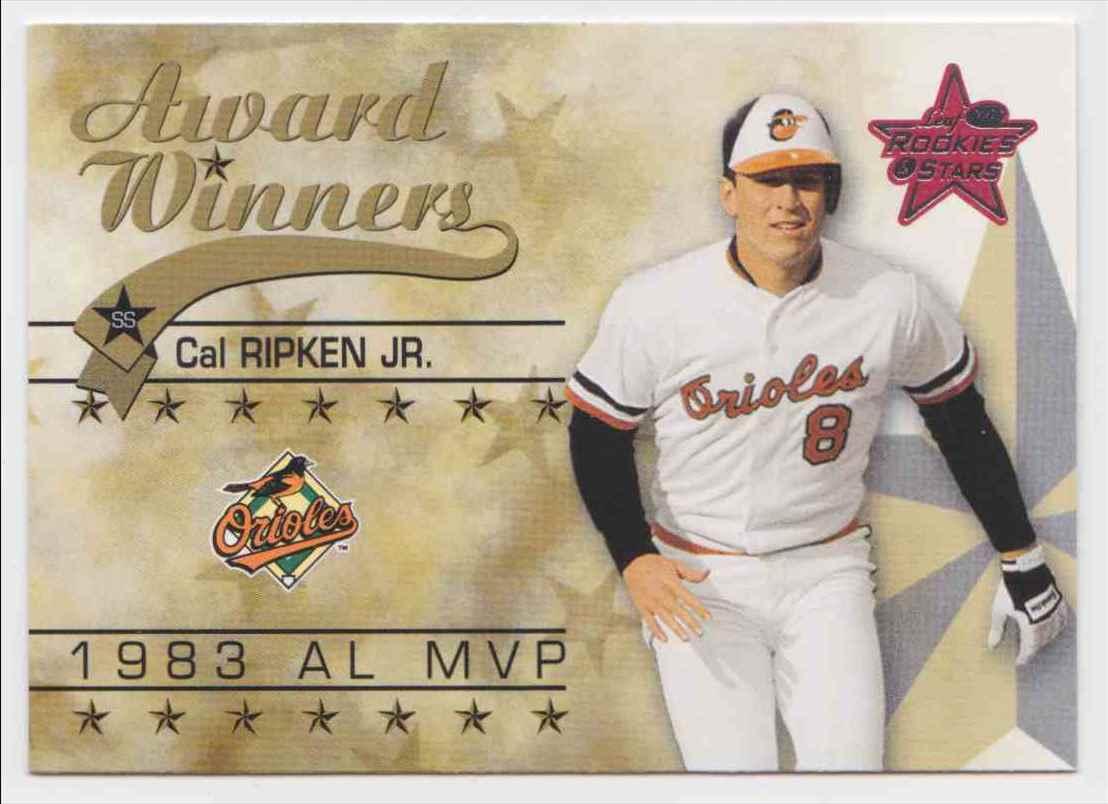 2002 Leaf Rookies & Stars Cal Ripken #252 card front image