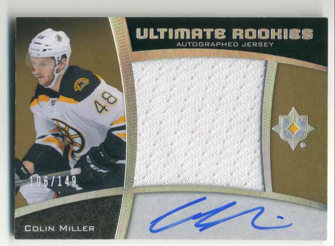 2015-16 Upper Deck Ultimate Collection Silver Colin Miller #57 card front image