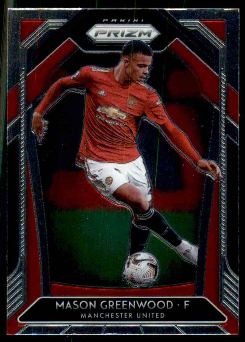 2020 Panini Prizm English Premier League Mason Greenwood #15 card front image