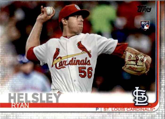 2019 Topps Update Ryan Helsley #US248 card front image