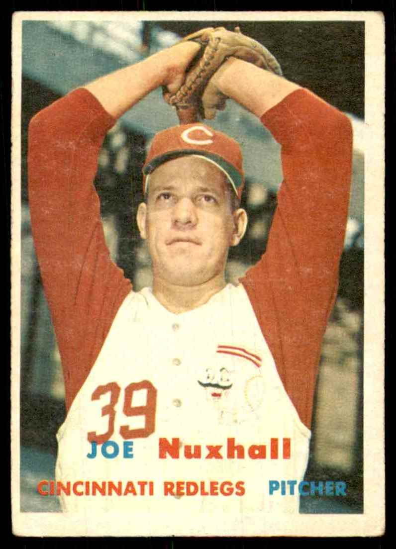 1957 Topps Joe Nuxhall #103 card front image