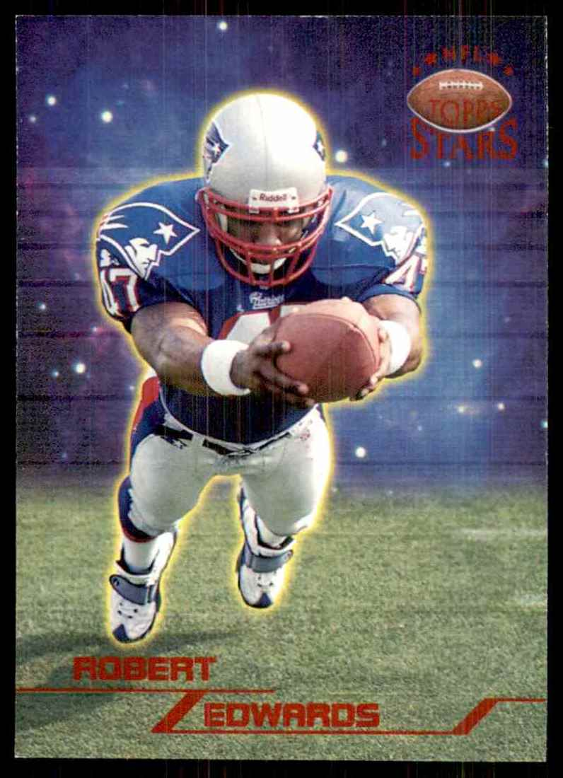 1998 Topps Stars Robert Edwards RC #51 card front image