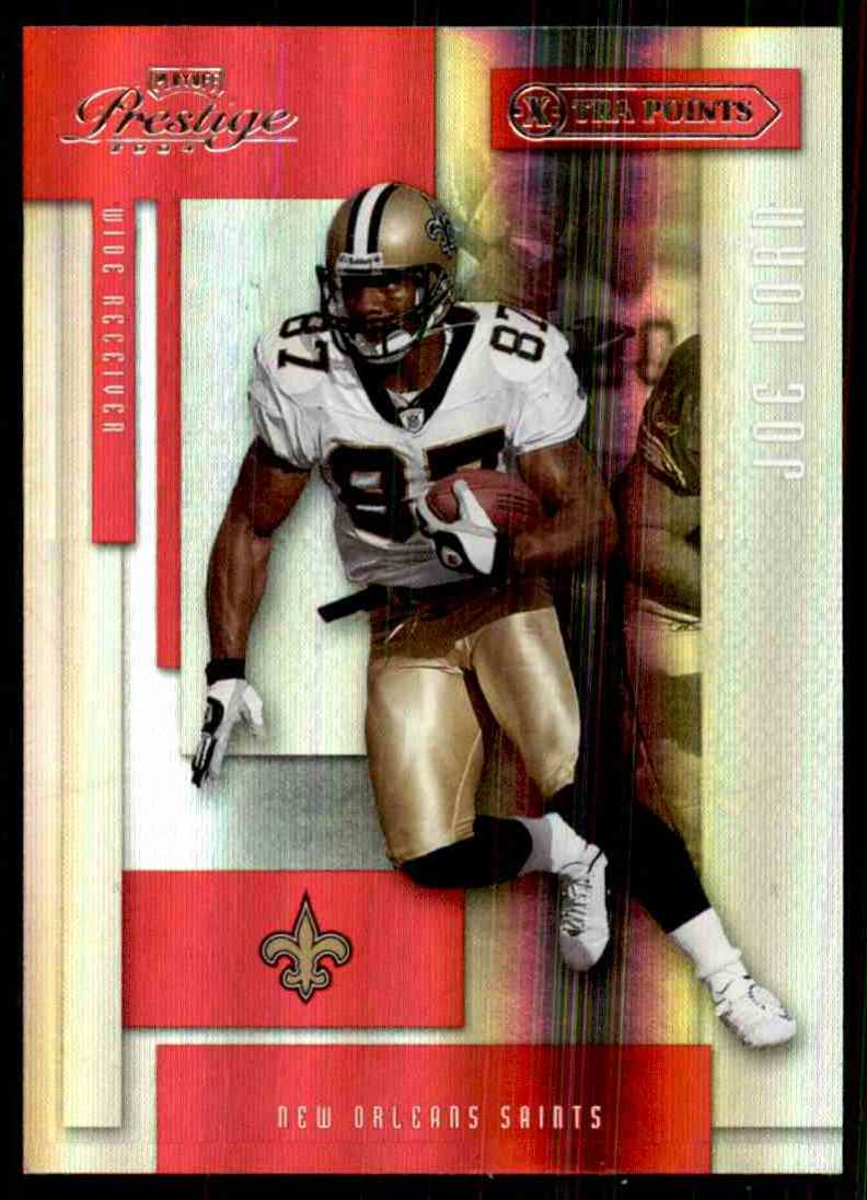 2004 Playoff Prestige Xtra Points Red Joe Horn #91 card front image