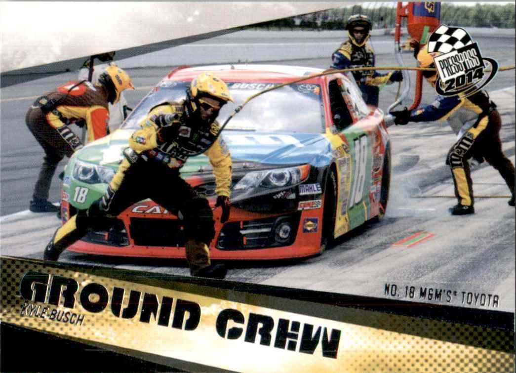 2014 Press Pass Kyle Busch's Car Gc #71 card front image