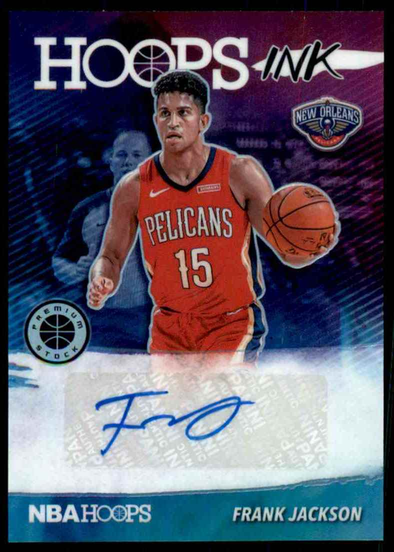 2019-20 Hoops Premium Stock Hoops Ink Frank Jackson #12 card front image