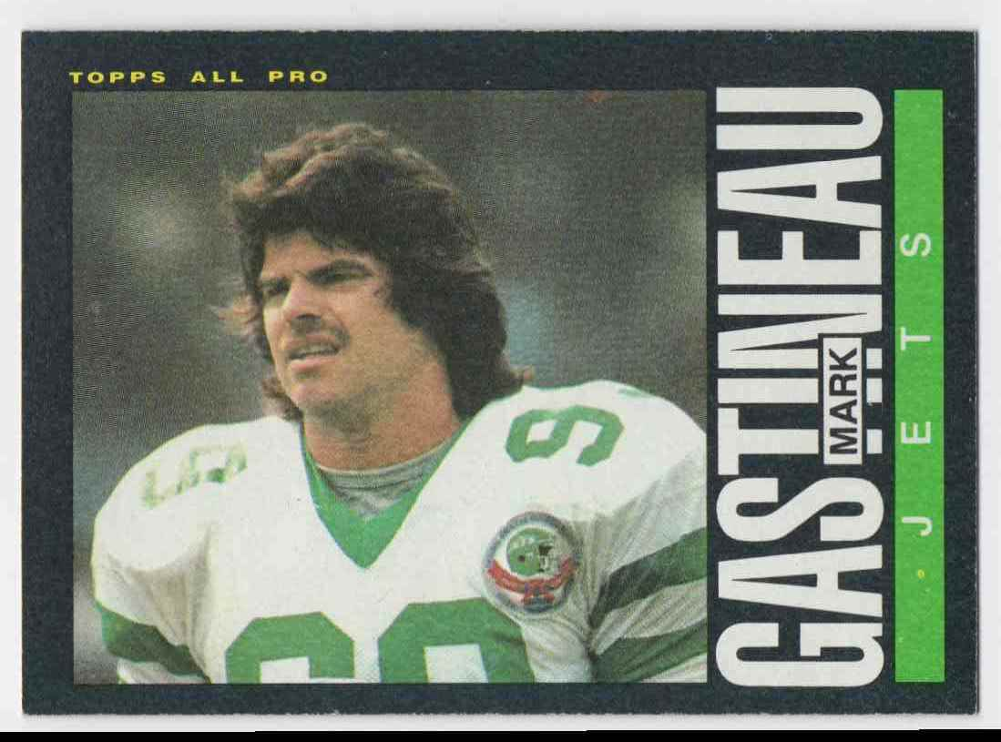 1985 Topps Mark Gastineau #337 card front image
