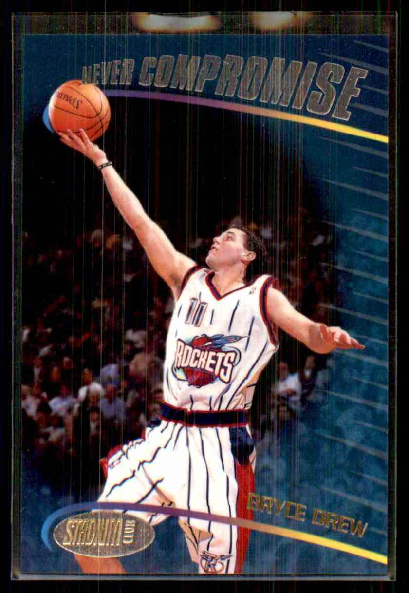1998-99 Stadium Club Never Compromise Bryce Drew #NC18 card front image