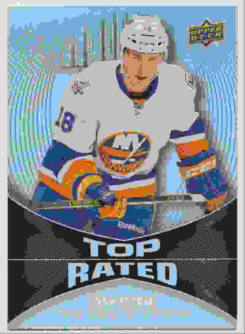 2016-17 Upper Deck Overtime Top Rated Ryan Strome #TR17 card front image