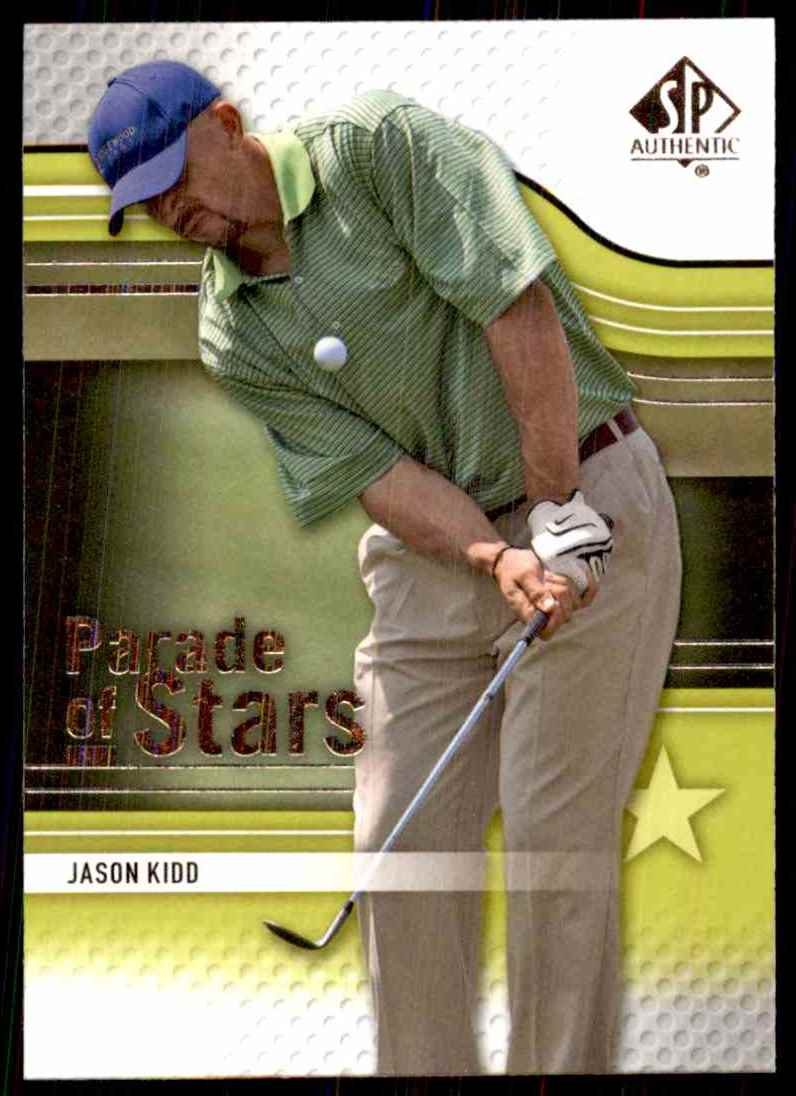 2012 SP Authentic Jason Kidd Ps #79 card front image
