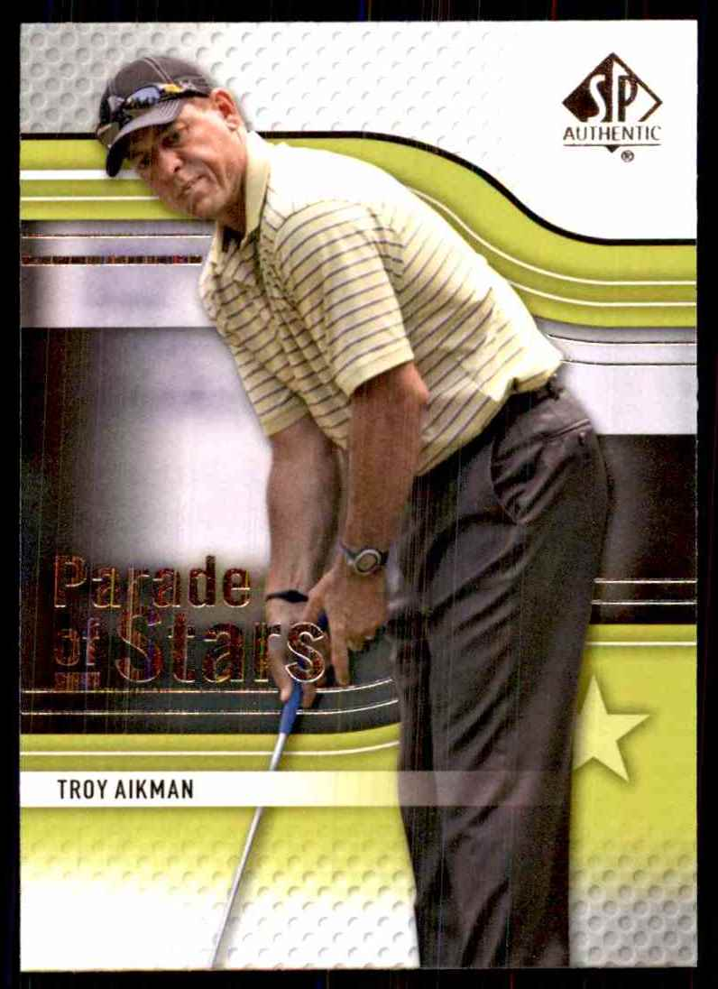 2012 SP Authentic Troy Aikman Ps #74 card front image