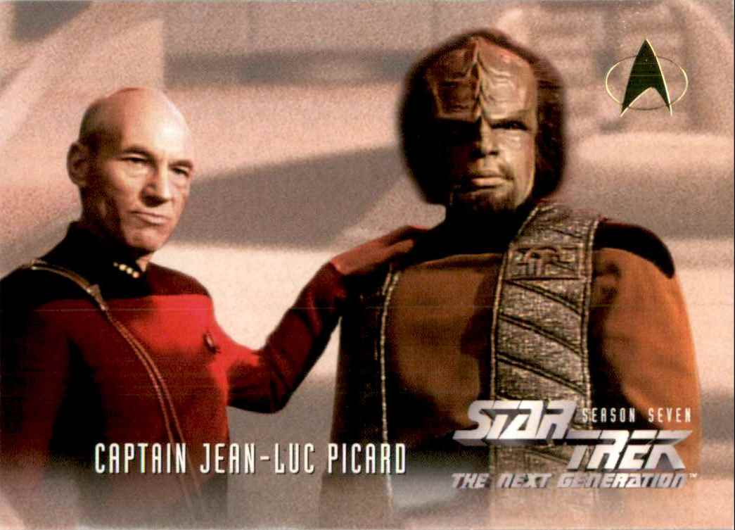 1994 Star Trek The Next Generation Episode Collection Lieutenant Worf #727 card front image