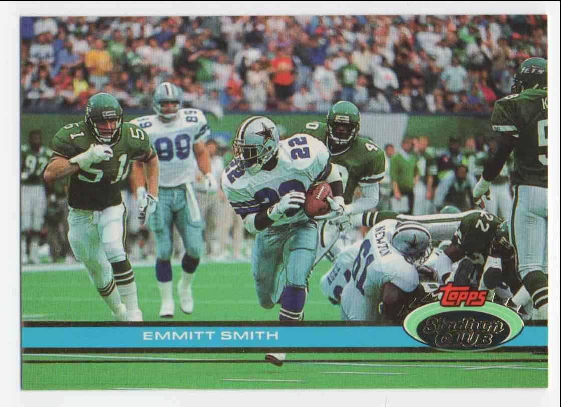 1991 Stadium Club Emmitt Smith #2 card front image