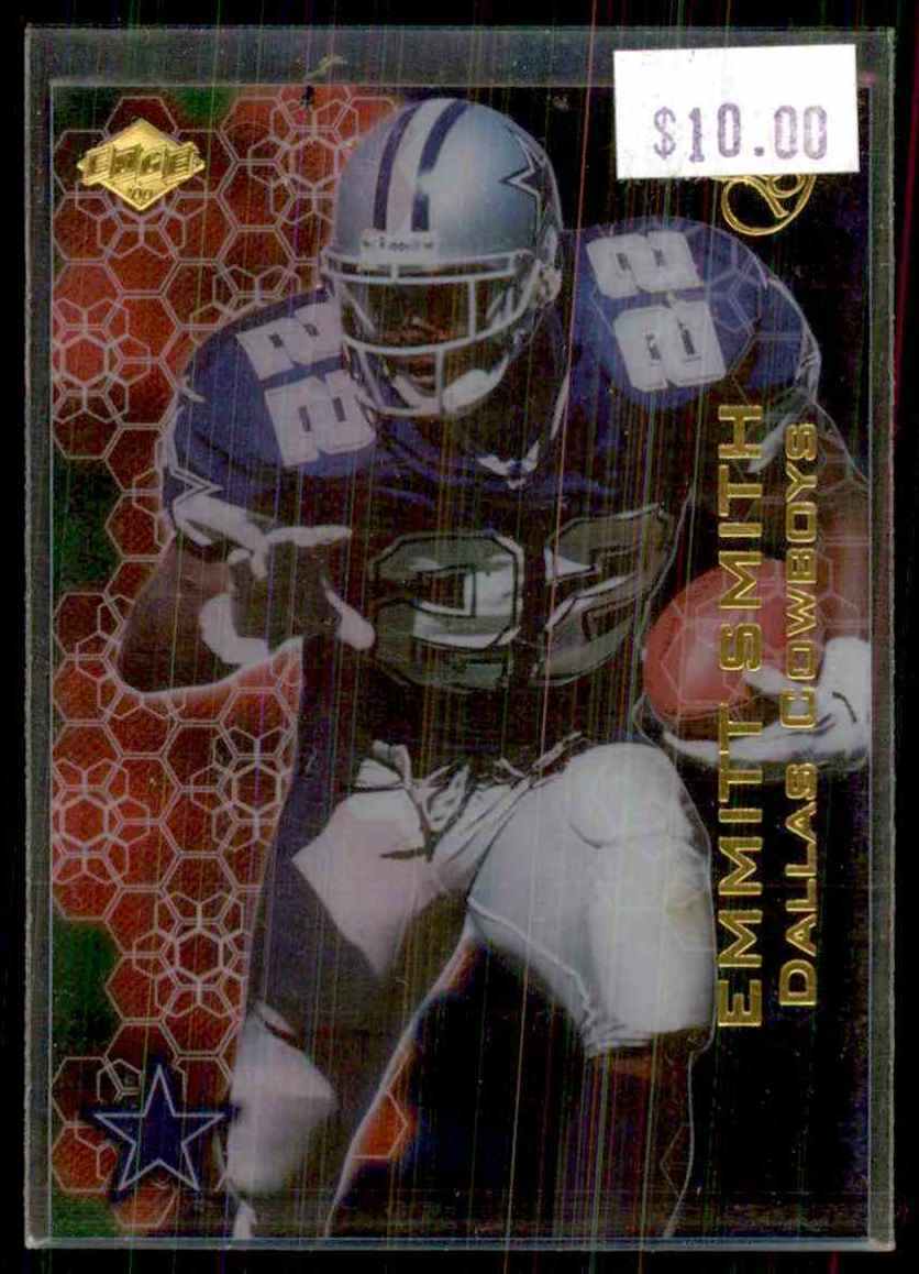 2000 Collector's Edge Eg Gems Emmitt Smith #E7 card front image