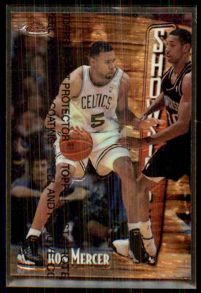1997-98 Finest Ron Mercer B RC #272 card front image