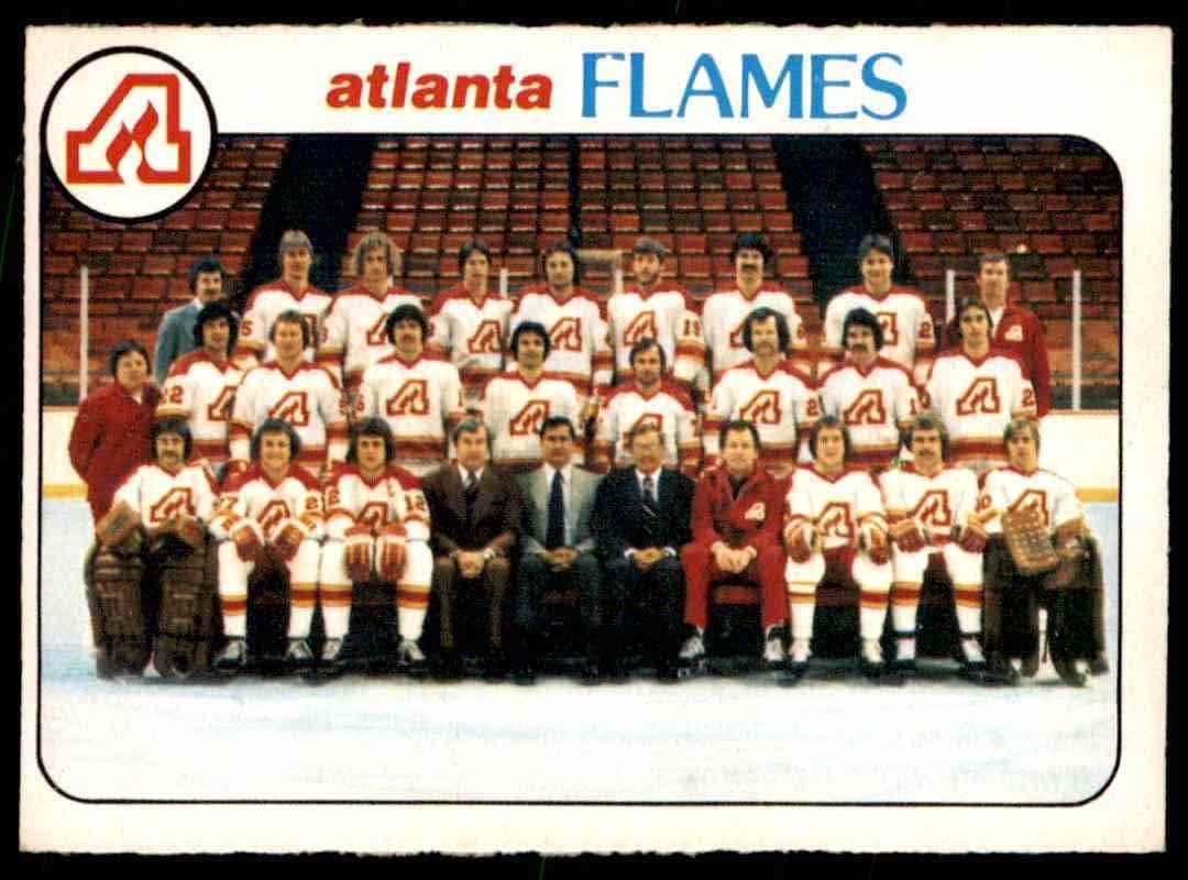 1978-79 O-Pee-Chee Atlanta Flames #192 card front image