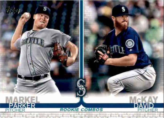 2019 Topps Update Parker Markel RC/David McKay RC #US53 card front image