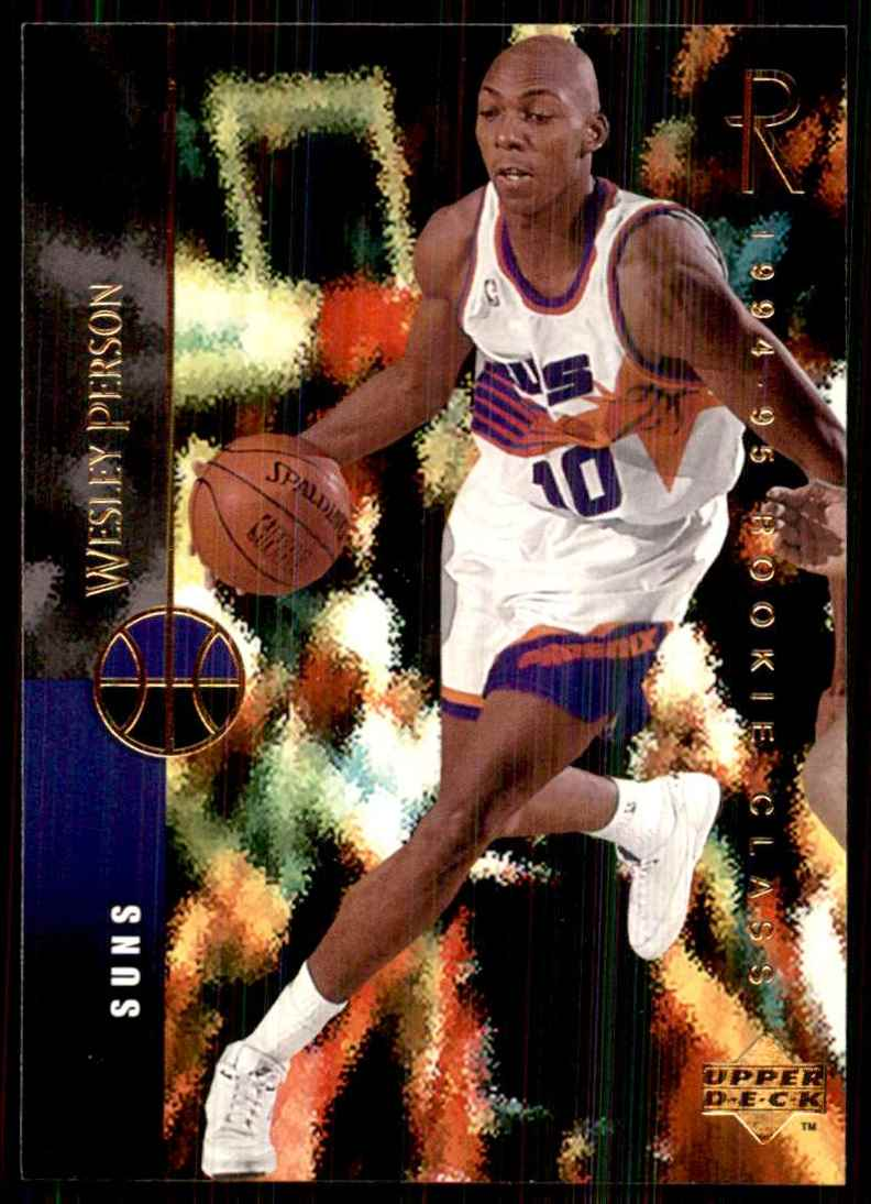 1994-95 Upper Deck Wesley Person RC #165 card front image