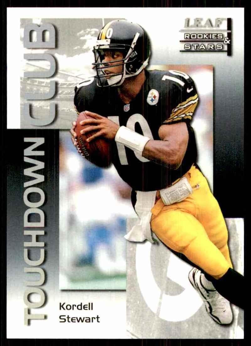 1998 Leaf Rookies & Stars Touchdown Club Kordell Stewart #10 card front image