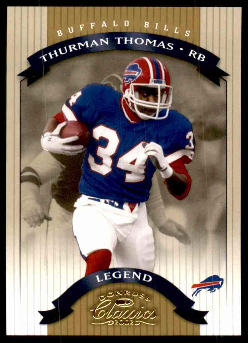 2002 Donruss Classics Thurman Thomas #130 card front image