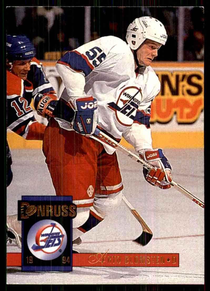 1993-94 Donruss Arto Blomsten #506 card front image