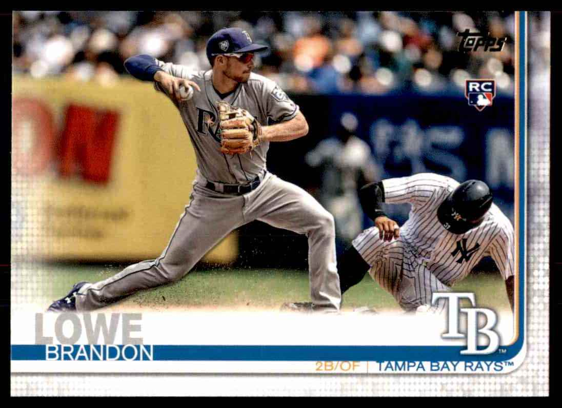 2019 Topps Brandon Lowe #114 card front image