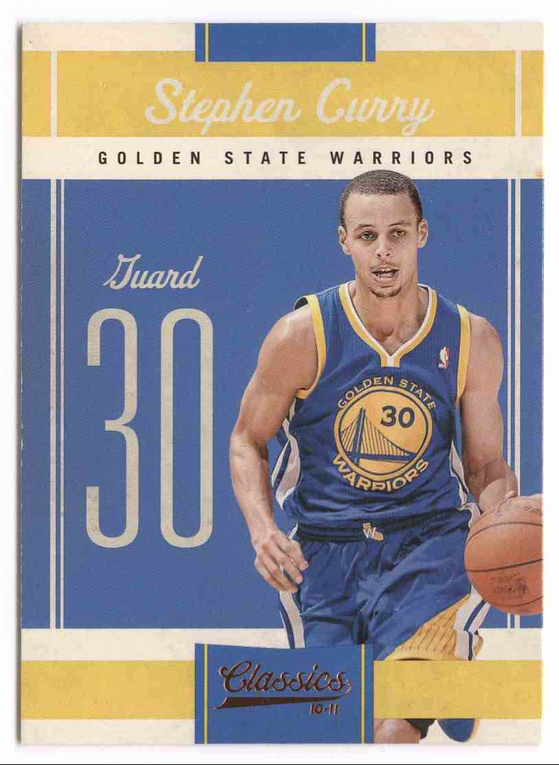 2010-11 Classics Stephen Curry #27 card front image