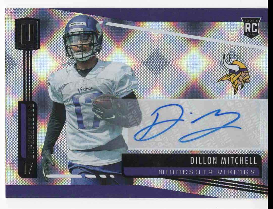 2019 Panini Unparalleled Dillon Mitchell #242 card front image