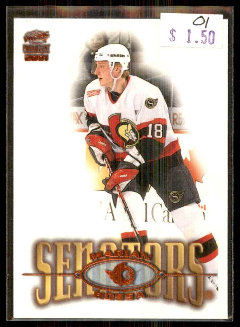 2000-01 Pacific Paramount Copper Marian Hossa #172 card front image