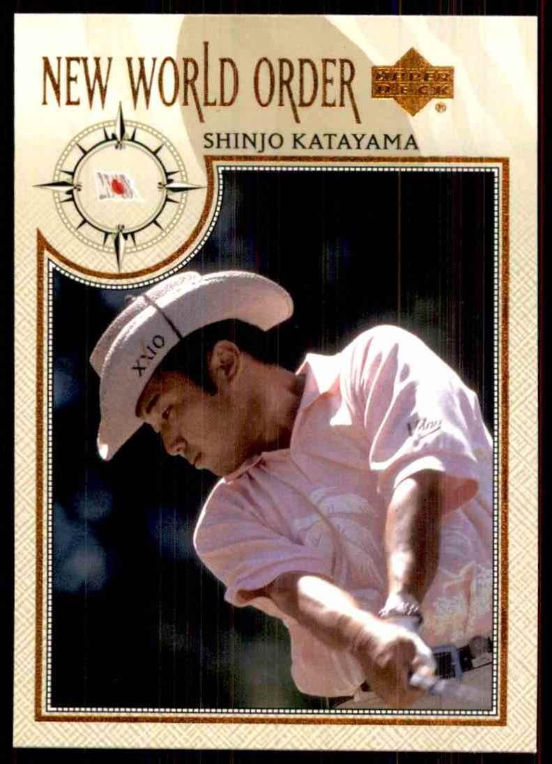 2002 Upper Deck Shingo Katayama Nwo RC #75 card front image
