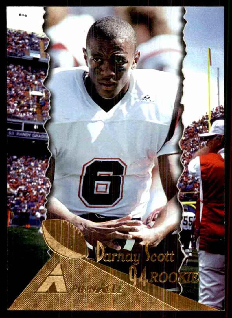 1994 Pinnacle Darnay Scott RC #210 card front image