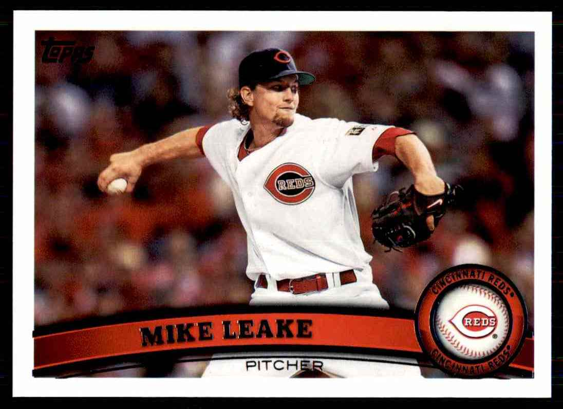 2011 Topps Mike Leake #516 card front image