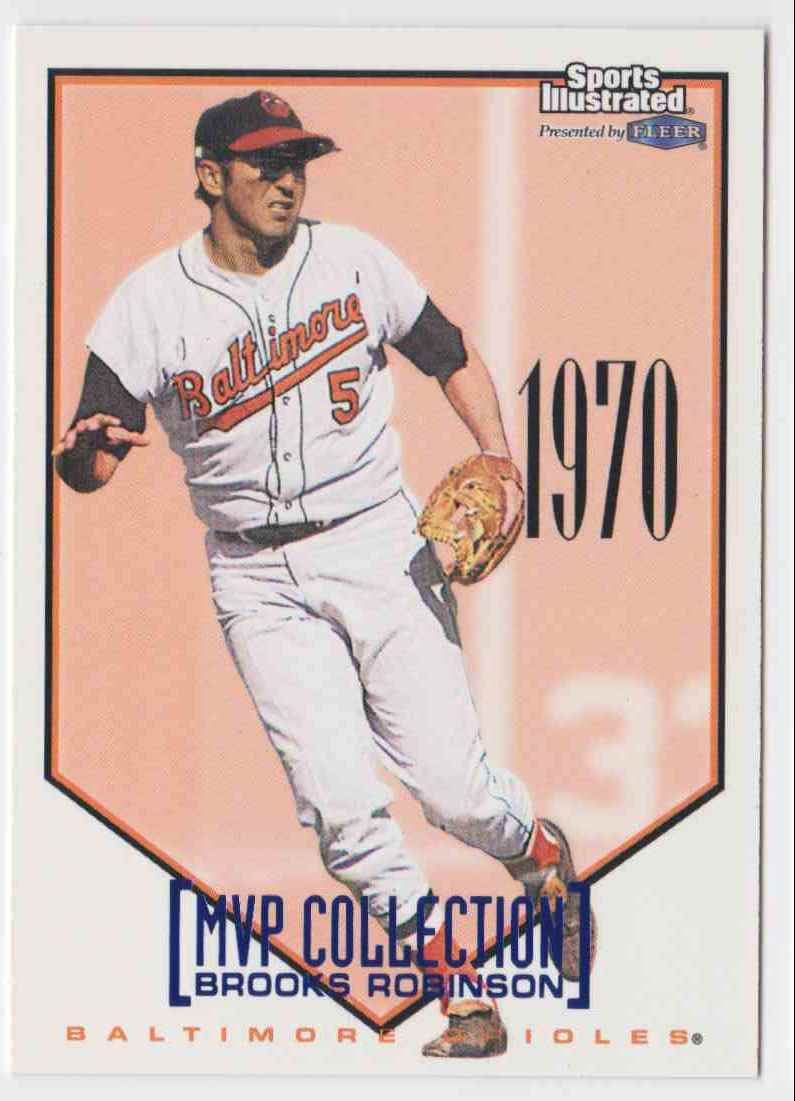 1998 Fleer MVP Collection Brooks Robinson #2MC card front image