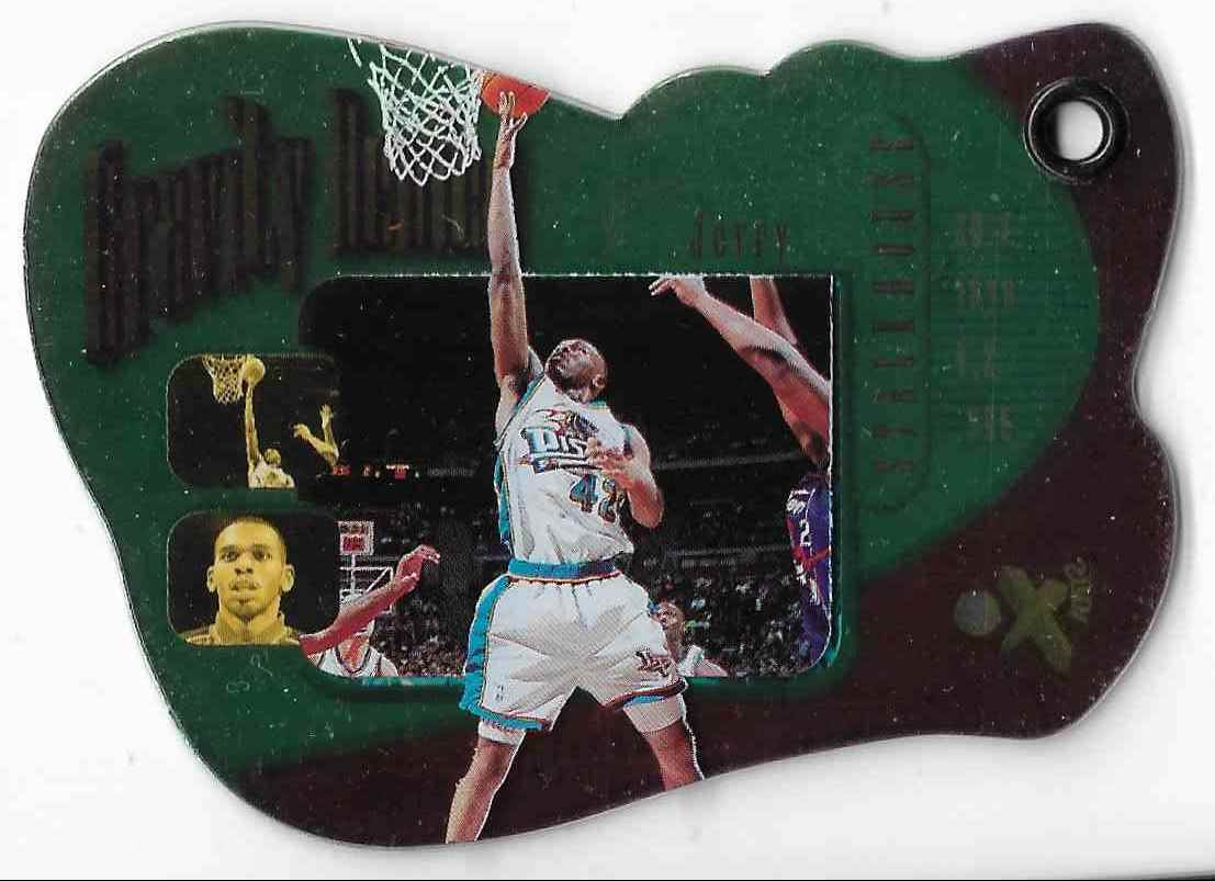 1997-98 Ex2001 Gravity Denied Jerry Stackhouse #17GD card front image