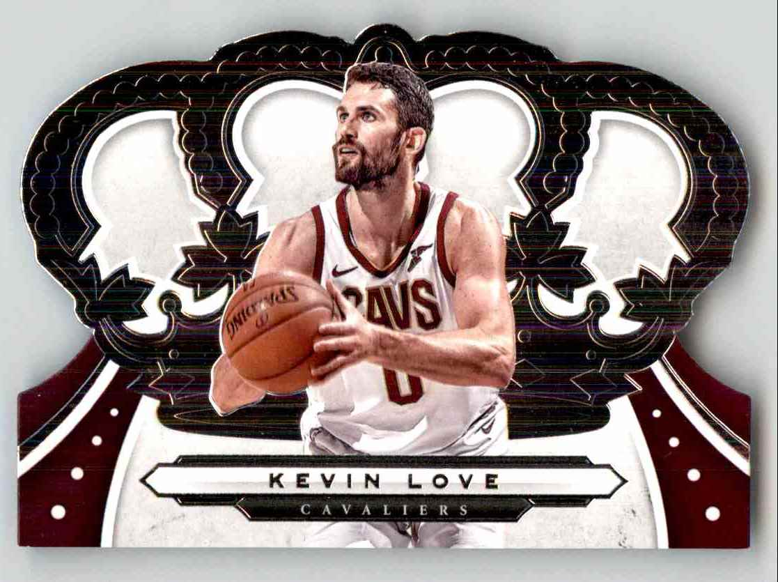 2019-20 Crown Royale Kevin Love #85 card front image