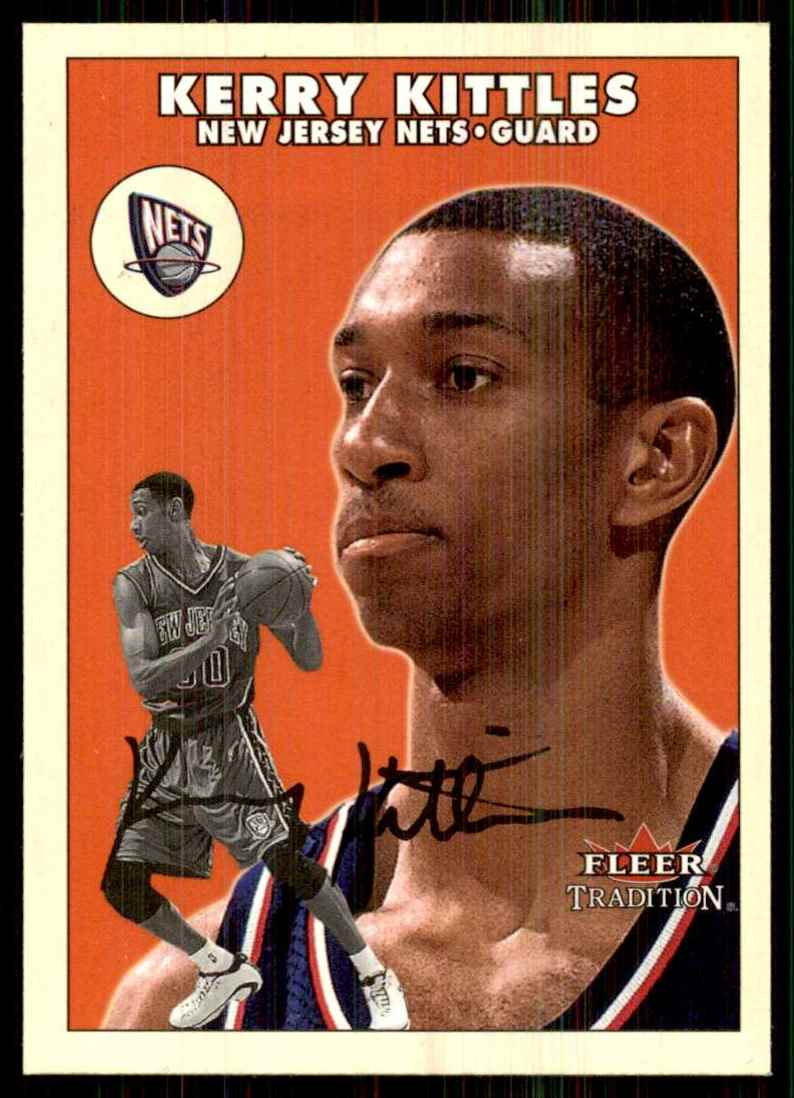 2000-01 Fleer Glossy Kerry Kittles #188 card front image