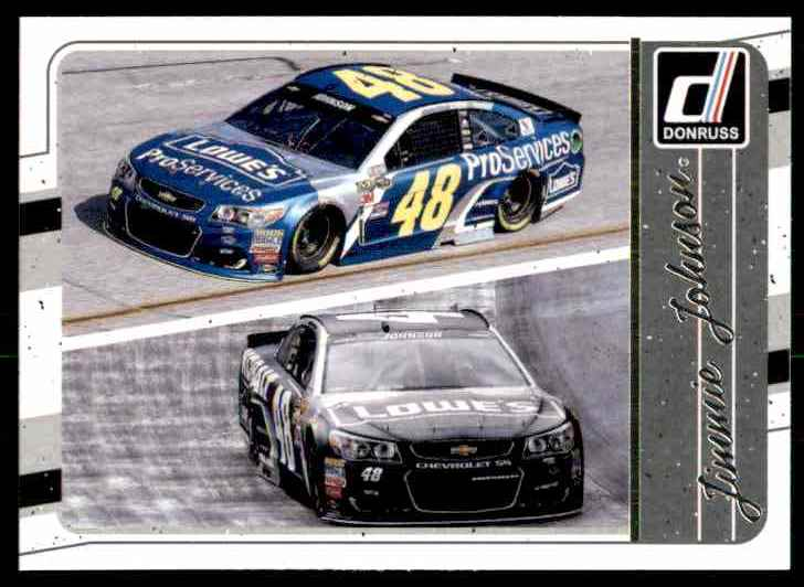 2017 Donruss Jimmie Johnson #102 card front image